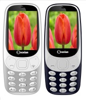 Snexian 3310 Carving Combo of Two Mobiles(Grey, Dark Blue)