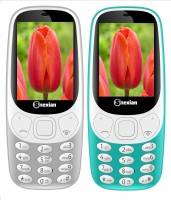 Snexian 3310 Carving Combo of Two Mobiles(Grey, Sky Blue)
