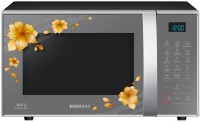 SAMSUNG 21 L Convection Microwave Oven(CE77JD-QH, Floral Silver and Black)