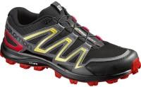 Salomon Speedtrak Running Shoes For Men(Black)