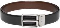 TOMMY HILFIGER Men Black Genuine Leather Belt