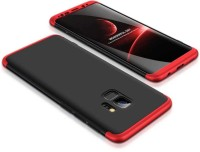 Flipkart SmartBuy Back Cover for Samsung Galaxy S9(Red, Black, Original Premium Quality, Shock Proof)