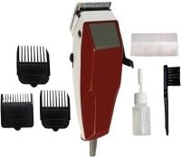 sourceindiastore sourceindiastore-RF-666(Electric Hair Clipper)  Runtime: 240 Trimmer for Men(Red)