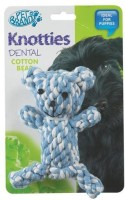 Pet Brands Knotty Teady Bear Cotton Chew Toy For Dog