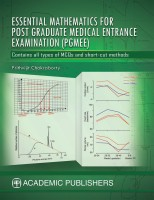 ESSENTIAL MATHEMATICS FOR POST GRADUATE MEDICAL ENTRANCE EXAMINATION (PGMEE)(ENGLISH, Paperback, PRITHVIJIT CHAKRABORTY)
