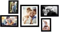 Painting Mantra Generic Photo Frame(Black, 5 Photos)