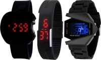 blutech new stylish 3 digital combo watches for kids and boys today fashion fast selling product (wedding wear/casual wear/party wear/formal wear/)watches for kids and boys Watch - For Boys
