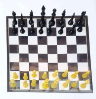 SHIVA1341 Executive Chess Toy For Kids Multi Color Board Game