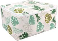 HomeStorie Wardrobe Organizer Cloth & Blanket Storage Bag, Large 52 x 43 x 25 cm(Multicolor)