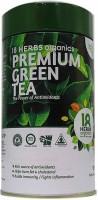 18 Herbs Premium Green Tea TIN Unflavoured Green Tea Bags(62.5 g, Plastic Bottle)