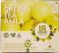 18 Herbs GREEN TEA WITH AMLA Berry Green Tea Bags(22 g, Tetrapack)