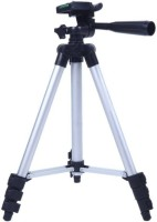 CRAZYINK Premium Quality Tripod Stand 360 Degree 940mm Extendable Stretch 3110 Portable Digital Camera Mobile Stand Holder Camcorder Tripod Stand Lightweight Aluminum Flexible Portable Three-way Head Compatible Tripod(Black, Silver, Supports Up to 1000 g)
