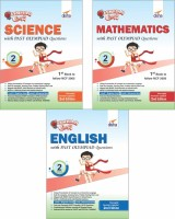 Olympiad Champs Science, Mathematics, English Class 2 with Past Questions 2nd Edition (set of 3 books)(English, Paperback, Disha Experts)