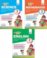 Olympiad Champs Science, Mathematics, English Class 3 with Past Questions 3rd Edition (set of 3 books)(English, Paperback, Disha Experts)