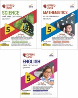 Olympiad Champs Science, Mathematics, English Class 5 with Past Questions 3rd Edition (set of 3 books)(English, Paperback, Disha Experts)