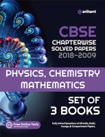 CBSE Chapterwise Solved Papers PCM Class 12th(Paperback, Arihant Expert)