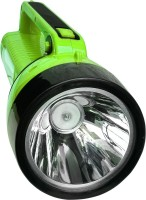 24 ENERGY 5W Laser LED+ 16 SMD Hi Bright With Solar Rechargeable Light Torch(Green : Rechargeable)