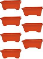 SHOPTICO Plant Container Set(Pack of 7, Plastic)