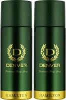 Denver Hamilton Deo Combo Body Spray - For Men(330 ml, Pack of 2)