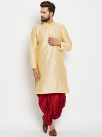 Nawab-Saheb Men Kurta and Dhoti Pant Set