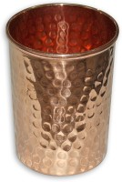 Veda Home & Lifestyle GL112 Glass(Copper, 300 ml, Brown, Pack of 1)