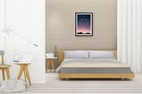 SLEEP SPA ORTHOPAEDIC DUAL COMFORT MATTRESS- HARD & SOFT 5 inch Queen High Resilience (HR) Foam Mattress