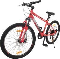 Hercules Roadeo Maverick 26 T Mountain/Hardtail Cycle(7 Gear, Red, Black)