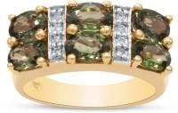 RAKAM 14kt Sapphire, Diamond Yellow Gold ring