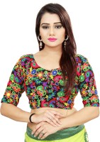 ARSHIMPEX Georgette Embroidered Blouse Material(Unstitched)