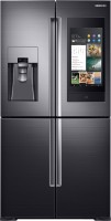 View Samsung 810 L Frost Free Side by Side Inverter Technology Star Refrigerator(Black, RF28N9780SG/TL) Price Online(Samsung)