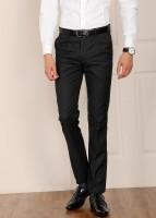 Arrow Arnold Slim Fit Men's Black Trousers