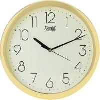 Ajanta Analog 26.5 cm X 26.5 cm Wall Clock(Gold, With Glass)