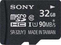 Sony SR-32UY3A 32 GB MicroSD Card Class 10 90 MB/s  Memory Card