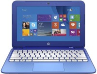 HP Stream Celeron Dual Core - (2 GB/32 GB EMMC Storage/Windows 8.1) 11-d010wm Laptop(11.6 inch, Blue, With MS Office)