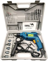 CAMEL 13Mm 500W Impact Drill Machine With Reversible Function + 35 Accessories Power Tool Kit(35 Tools)