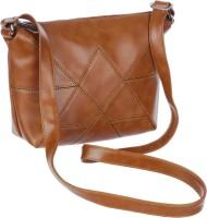 Leather Land Brown Sling Bag