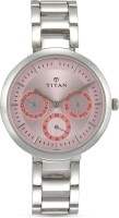 Titan NF2480SM05 Purple Watch  - For Women