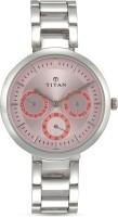 Titan NF2480SM05 Purple Watch - For Women