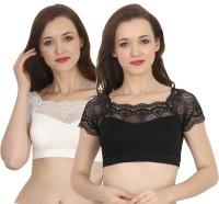 Chilee Life U-Neck Women Stitched Blouse