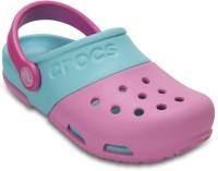 CROCS Boys & Girls Slip-on Clogs(Pink)