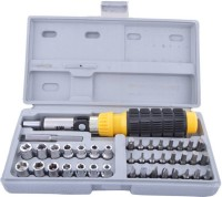 AutoCart 41 in 1 Toolkit, Screwdriver with Ratchet for Home office & Vehicle Tool Kit