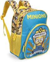 Despicable Me Minions University 12 inch School Bag(Blue, Yellow, 10 L)