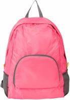 bludug Foldable Lightweight Waterproof Travel Backpack Daypack Bag Sports&Hiking Waterproof Multipurpose Bag(Pink, 15 L)