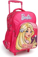 Barbie Sparkle and Shine Pink 16 inch School Bag(Pink, 30 L)