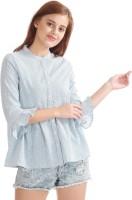 Flying Machine Women's Striped Casual Shirt