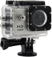 Suroskie Action camera 1080P 12MP Sports Waterproof Action Camera Sports and Action Camera(Black, 12 MP)