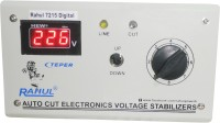 rahul 7215 c Digital 600 VA/2 AMP 90-260 VOLT 1 Air Coolers Autocut Voltage Stabilizer Digital Autocut Stabilizer(Smook Gray)