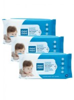 MeeMee Caring Baby Wet Wipes with Aloe Vera (72 pcs/pack) (Pack of 3)(3 Pieces)