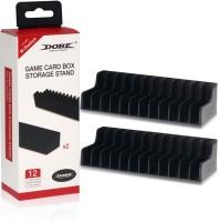 Microware Sleeve for Storage Stand CD DIsk Holder for Nintendo Switch Black(Black, Plastic)