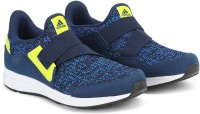 ADIDAS Boys Slip on Running Shoes(Blue)